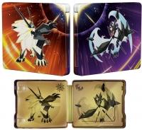 Pokémon Ultra Sun and Pokémon Ultra Moon - Steelbook Dual Pack Box Art