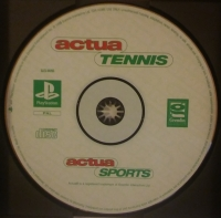 Actua Tennis [FI][NO][DK][SE] Box Art