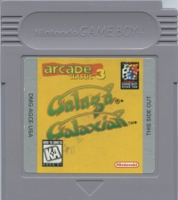 Arcade Classic No.3: Galaga / Galaxian Box Art
