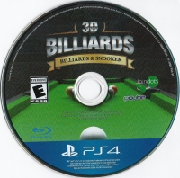 3D Billiards: Billards & Snooker Box Art