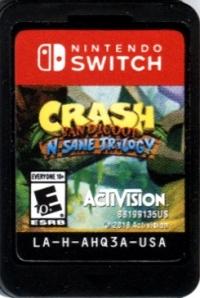 Crash Bandicoot N. Sane Trilogy Box Art