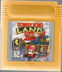 Donkey Kong Land III Box Art