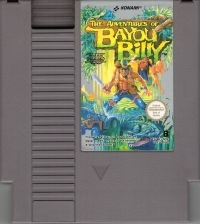 Adventures of Bayou Billy, The Box Art