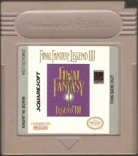 Final Fantasy Legend III (Square) Box Art