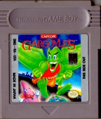 Gargoyle's Quest Box Art