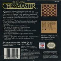 New Chessmaster, The Box Art