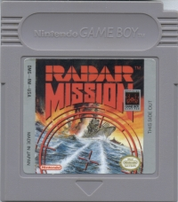 Radar Mission Box Art