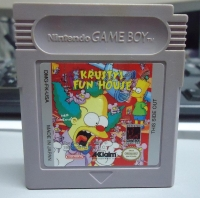 Krusty's Funhouse: Featuring the Simpsons Box Art