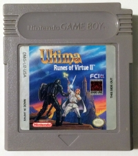 Ultima: Runes of Virtue II Box Art