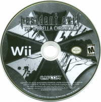 Resident Evil: The Umbrella Chronicles Box Art