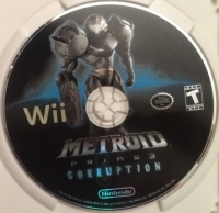 Metroid Prime 3: Corruption Box Art