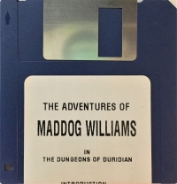 Adventures of Maddog Williams in the Dungeons of Duridian, The Box Art