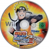 Naruto Shippuden: Clash of Ninja Revolution III European Version [NL] Box Art