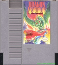 Dragon Warrior Box Art