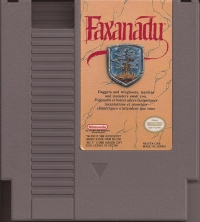 Faxanadu Box Art