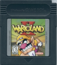 Wario Land II Box Art