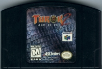 Turok 2: Seeds of Evil (Black Cartridge) Box Art