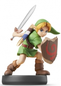 Young Link - Super Smash Bros. Box Art