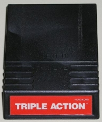 Triple Action (Red Cartridge Label) Box Art