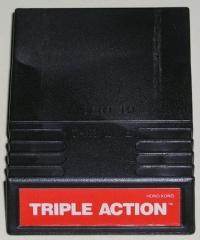 Triple Action Box Art