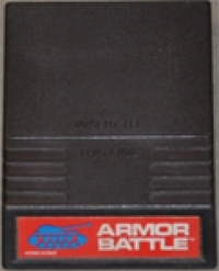 Armor Battle (red label) Box Art