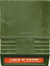 Lock 'N' Chase (red label) Box Art