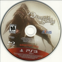Demon's Souls - Greatest Hits Box Art
