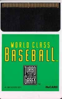 World Class Baseball Box Art