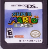 Super Mario 64 DS Box Art