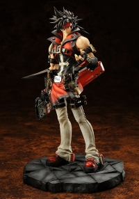 GUILTY GEAR Xrd -SIGN- 1/8 Scale Painted Figure - Sol Badguy (Normal Version) Box Art