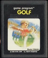 Golf Box Art