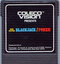 Ken Uston Blackjack-Poker Box Art
