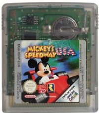 Mickey's Speedway USA Box Art