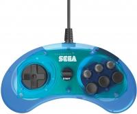 6 Button Arcade Pad (Clear Blue) Box Art