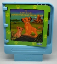 Disney's The Lion King: Adventures at Pride Rock (light blue cart) Box Art