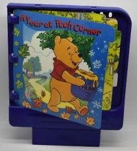 Year at Pooh Corner, A (purple cart) Box Art