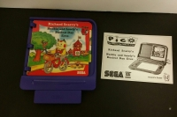 Richard Scarry's Huckle and Lowly's Busiest Day Ever (purple cart) Box Art