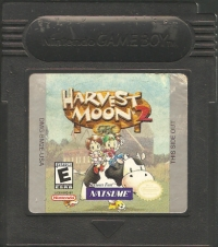 Harvest Moon 2 GBC Box Art