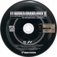 F1 World Grand Prix II for Dreamcast Box Art