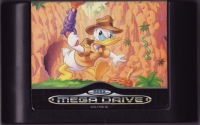 Quackshot Starring Donald Duck (Sega Classics) Box Art