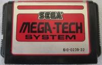 Sega Mega-Tech System - Super Real Basketball Box Art