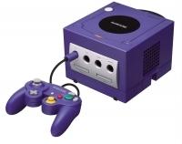 Nintendo GameCube - Indigo (One controller image) [NA] Box Art