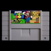 Super Mario Bros The Hunt For The Magical Key Box Art
