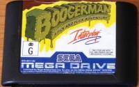 Boogerman: A Pick and Flick Adventure (black cart) Box Art
