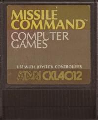 Missile Command Box Art