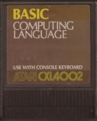 BASIC Computing Language Box Art