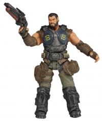 NECA Gears of War 3: Series 2 - Dominic Santiago Action Figure Box Art