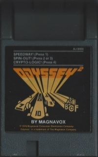 Speedway! / Spin-Out! / Crypto-Logic! Box Art