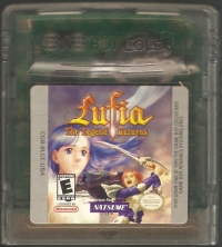 Lufia: The Legend Returns Box Art