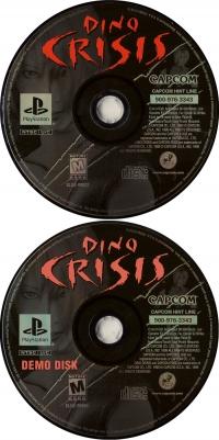 Dino Crisis (Including Demo Disk) Box Art